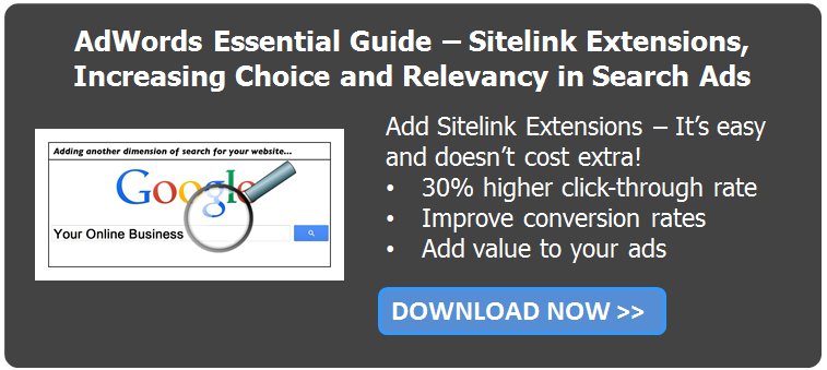 CTA Site Link Extensions Guide