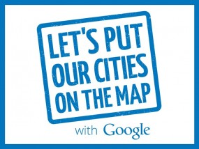 Let's Put Our Cities On The Map with Google